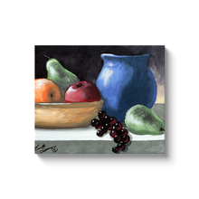 Load image into Gallery viewer, Fruit Still Life Canvas Wraps