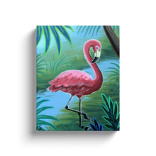Load image into Gallery viewer, The Flamingo Canvas Wraps