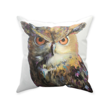 Load image into Gallery viewer, Aria The Owl Throw Pillows
