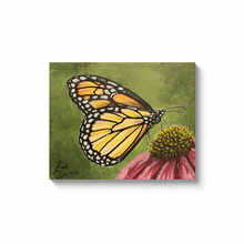 Load image into Gallery viewer, Monarch Butterfly Canvas Wraps