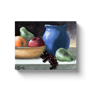 Fruit Still Life Canvas Wraps