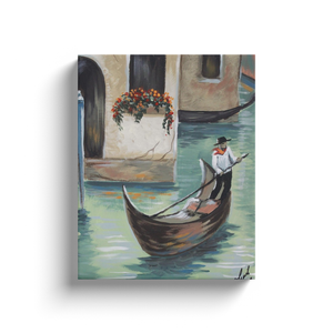 Venice Gondola Canvas Wraps