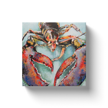 Load image into Gallery viewer, Rocco the Lobster by Linda Sperruzzi Canvas Wraps