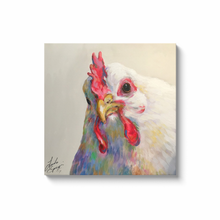 Load image into Gallery viewer, Agnes the Chicken Canvas Wraps