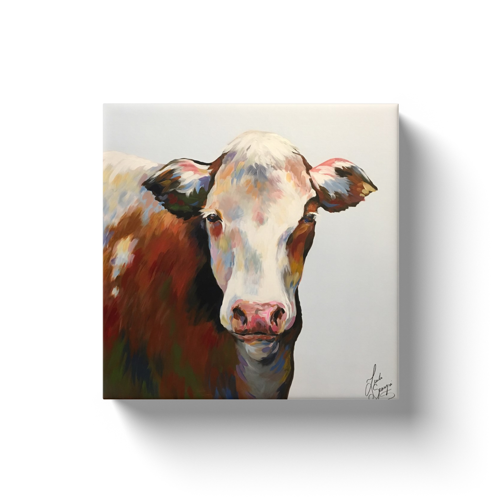 Bessie the Cow Canvas Wraps