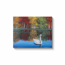 Load image into Gallery viewer, Fall at The Lake Canvas Wraps