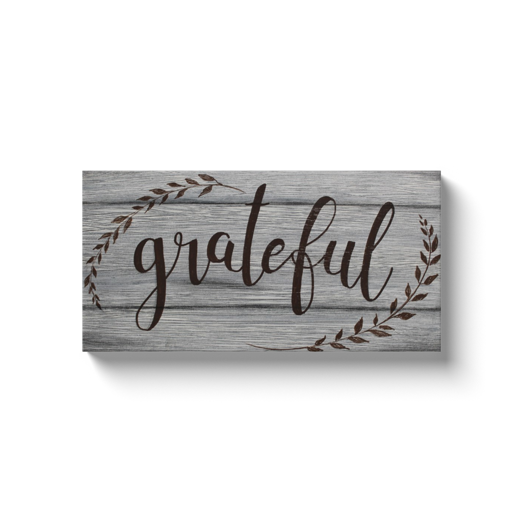 Grateful Canvas Wraps