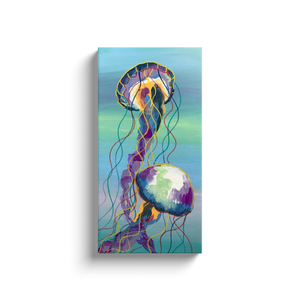 The Jellyfish Canvas Wraps
