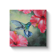 Load image into Gallery viewer, Hummingbird Canvas Wraps