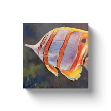 Load image into Gallery viewer, Ricky the Tropical Fish Canvas Wraps
