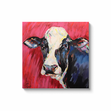 Load image into Gallery viewer, Colorful Cow Canvas Wraps