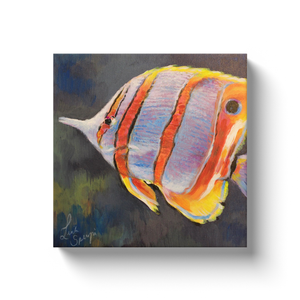 Ricky the Tropical Fish Canvas Wraps