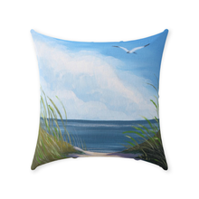 Load image into Gallery viewer, Tranquil Path Throw Pillows