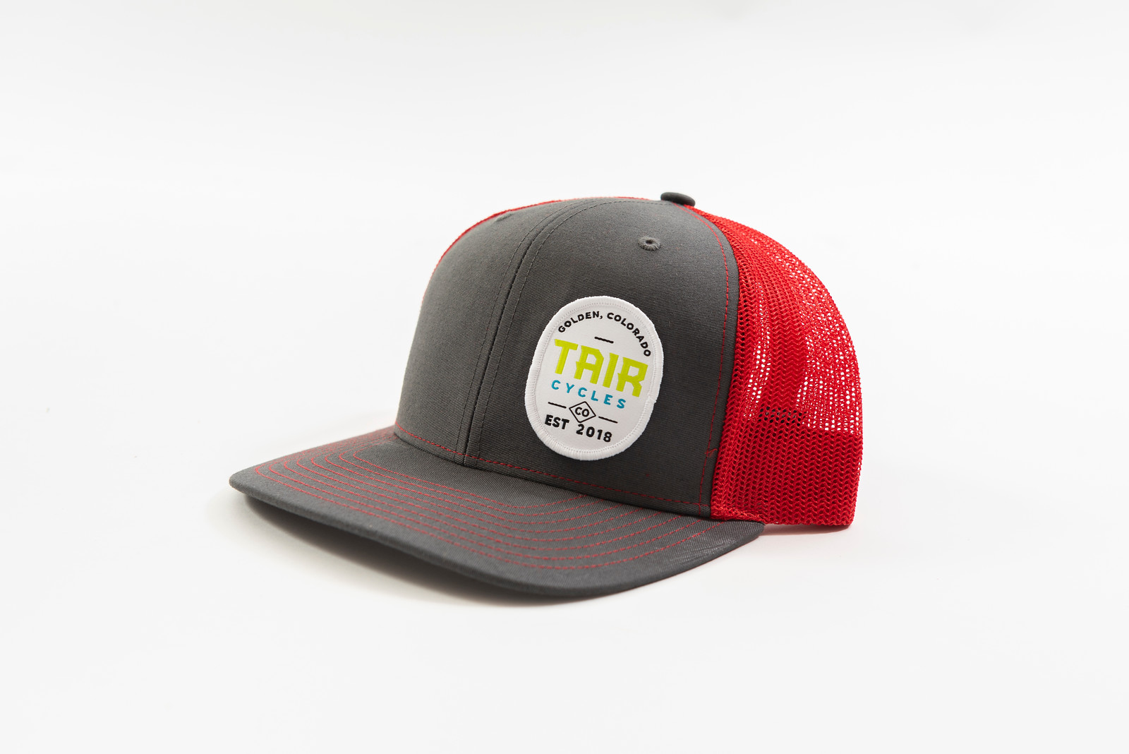 Tair Cycles Badge Logo Trucker Hat