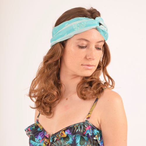 bandeau Bahaus Turquoise
