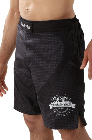 Choke&Chill Fightshorts - Carbon