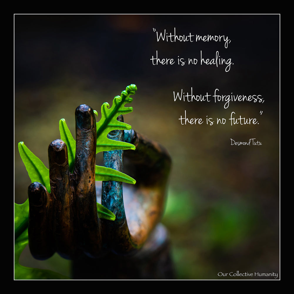 Without Forgiveness There Is No Future - Desmond Tutu