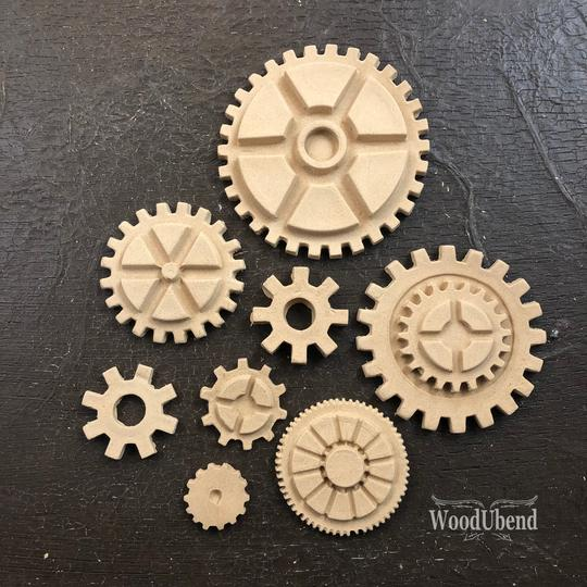 WoodUbend Moulding - Large Pack of Cogs - 0056