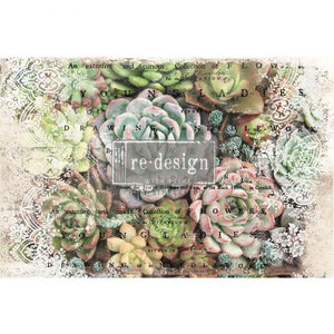 Re-Design with Prima Decoupage Decor Tissue Paper - Zuri