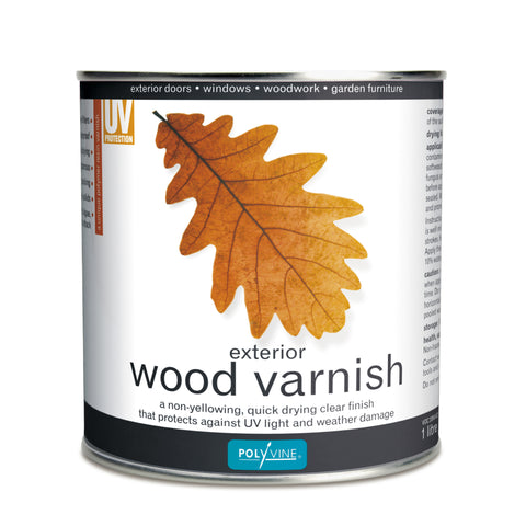 Polyvine Exterior Wood Varnish