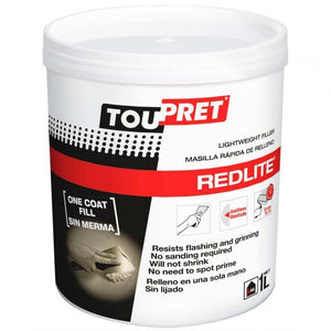 Toupret lightweight filler