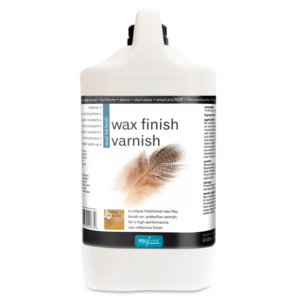 Polyvine Wax Finish Varnish