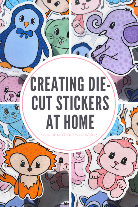 How to Use Print & Cut Vinyl to Create Die-Cut Stickers at Home