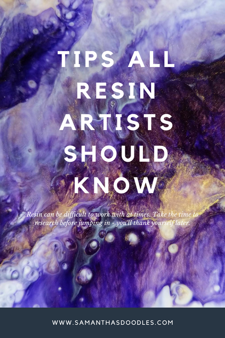 Tips ALL resin artists should know!