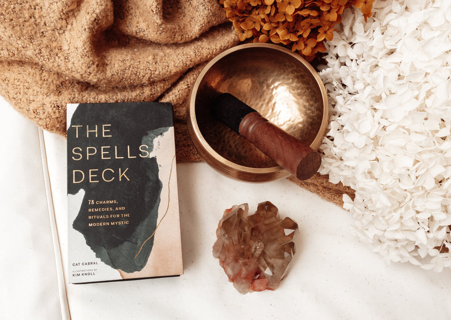 The Spells Deck: 78 Charms, Remedies, and Rituals for the Modern Mystic