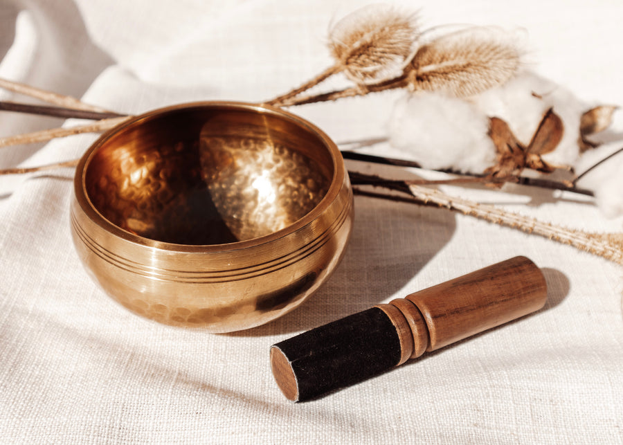 Hand-Hammered Tibetan Singing Bowl