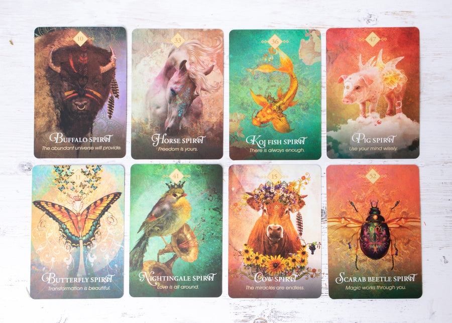 The Spirit Animal Oracle Cards: 68 Card Deck and Guidebook