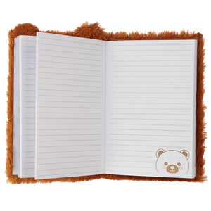 Fluffy Bear A5 Notebook