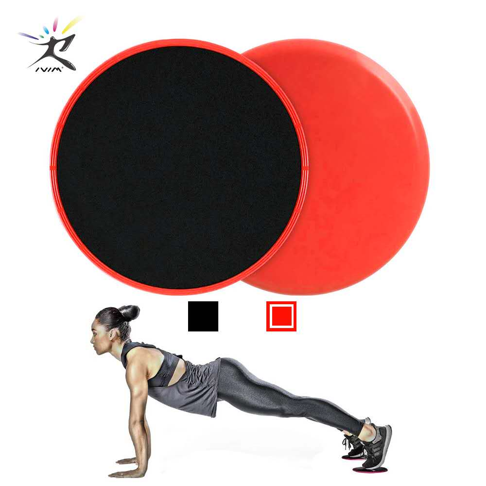 1 pair Glid Discs Fitness Abdominal Workout