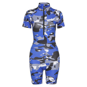 PENERAN Camouflage Gym Clothing 2020 Print Women