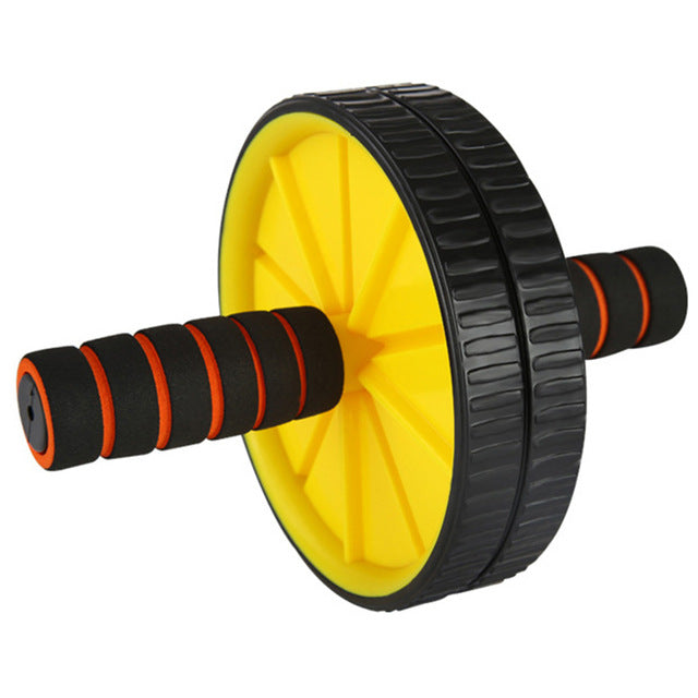 Double-Wheeled Abdominal Press Wheel Rollers