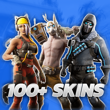 100+ Skins - Fortnite Account