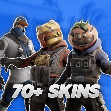70+ Skins - Fortnite Account