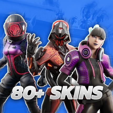 80+ Skins - Fortnite Account