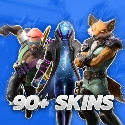 90+ Skins - Fortnite Account