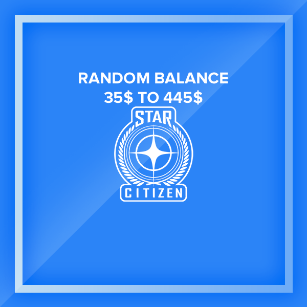 35$ to 435$ - Star Citizen Accounts