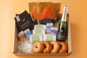 Brunch box with Lanson Champagne (4 people)