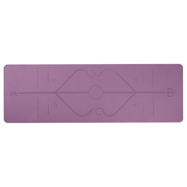 The Non-Slip Alignment Yoga Mat
