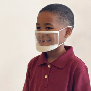 <strong>ClearMask™</strong> Transparent Face Mask - Box (24 Masks) | Kids