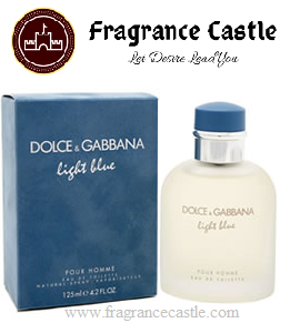 Dolce and Gabbana Light Blue Eau de Toilette Men 75ml