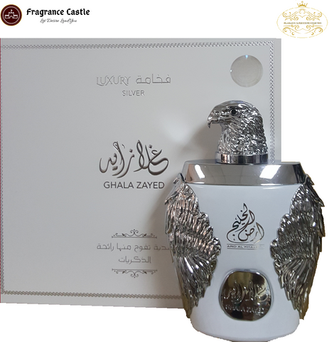Ghala Zayed Luxury Silver - Unisex- Eau De Parfum- 100 ML