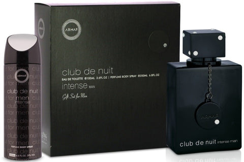 Armaf Club de Nuit Intense Man 2 Pcs Gift Set (105ml EDT + 200ml Body Spray)