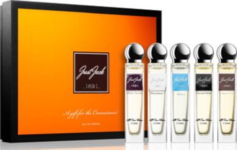 JUST JACK GLOW SERIES GIFT SET 5 x 30 ml EDP - A Perfume for every working day of the week