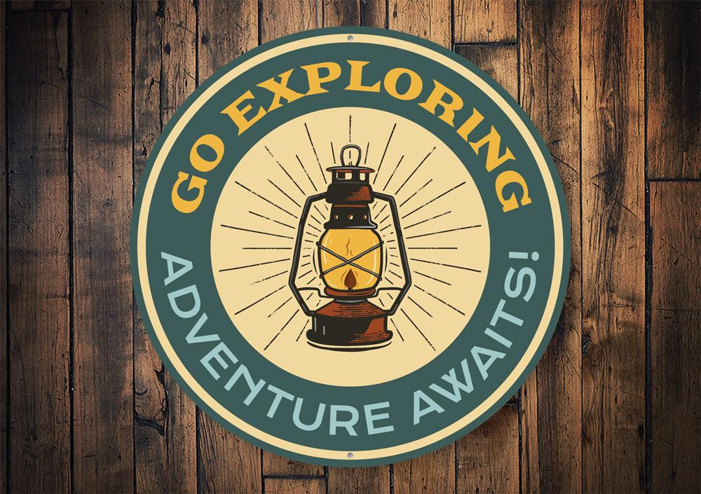 Go Exploring Sign