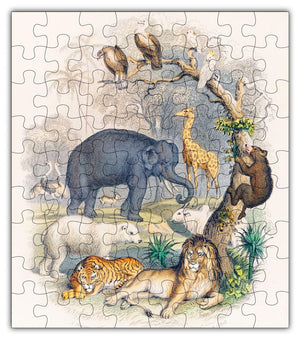 Load image into Gallery viewer, Zoo Animal Puzzle