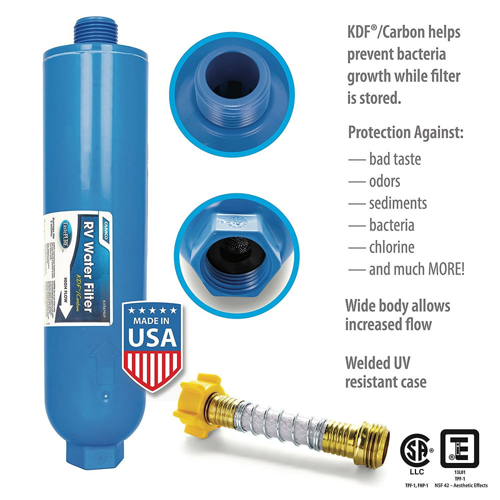 Camco TastePURE  KDF/Carbon Water Filter
